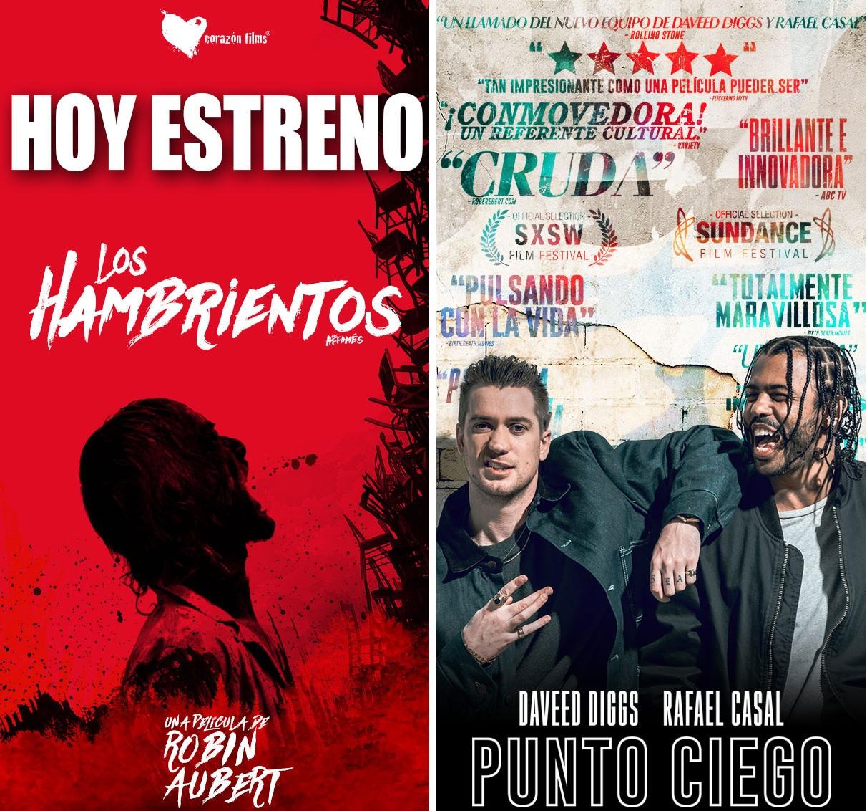 """ESTRENO: """"LOS HAMBRIENTOS"""" Y """"PUNTO CIEGO"""" de ❤ Corazón Films"""