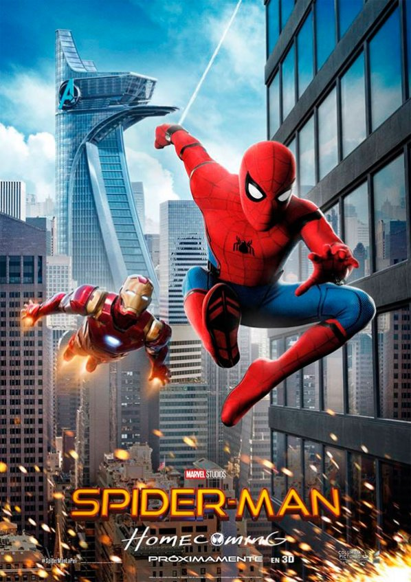 RESEÑA – SPIDERMAN HOMECOMING
