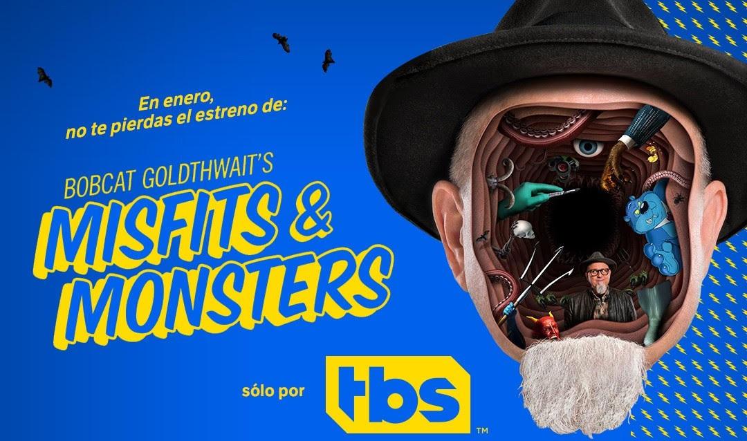 EN ENERO, LO INESPERADO LLEGA A TBS DE LA MANO DE BOBCAT GOLDTHWAIT'S MISFITS & MONSTERS