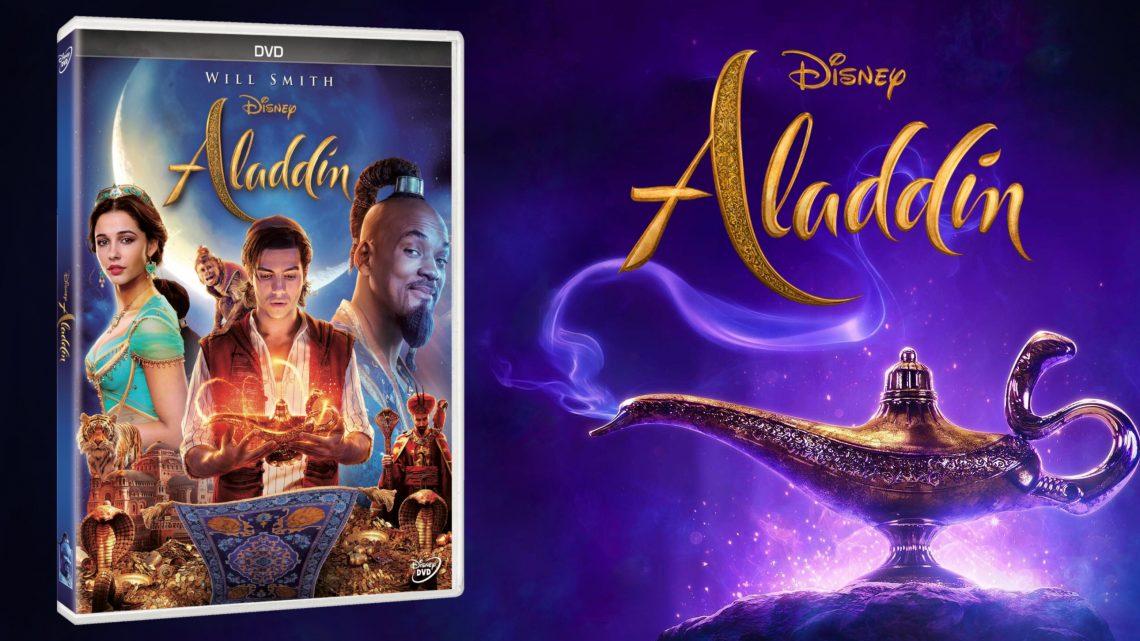 """Vive la magia de una forma totalmente nueva """"Aladdin"""", el clásico de Disney llega en DVD y Blu-ray™ el 13 de septiembre"""
