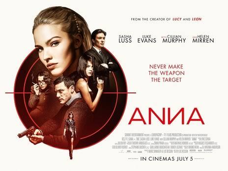 RESEÑA: ANNA: El peligro tiene nombre