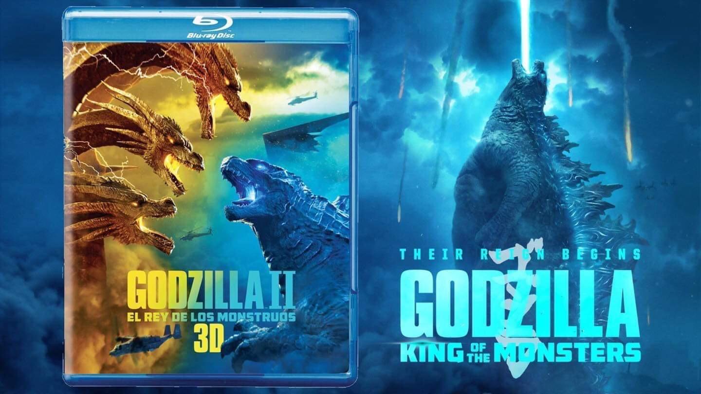 """""""Godzilla II: El Rey de los Monstruos"""" llega a DVD y Blu-ray"""