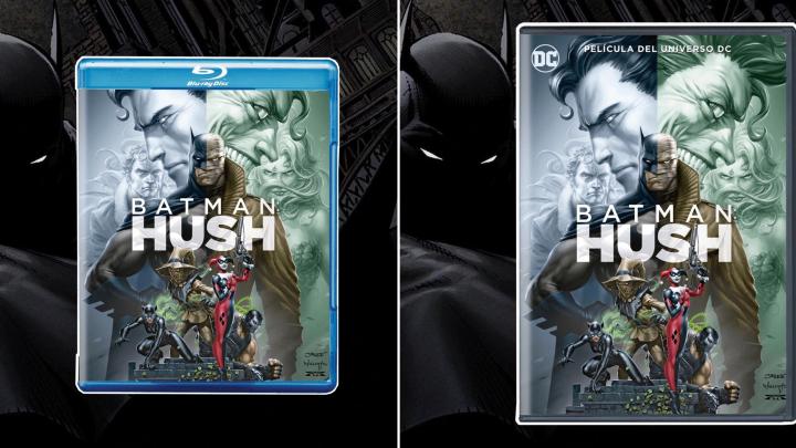 BATMAN: HUSH  QUE LLEGA EN DVD Y BLU-RAY EL 20 DE SEPTIEMBRE