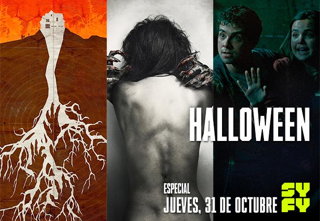 Programación SYFY para Halloween – jueves 31 de octubre a partir de las 20:50hrs