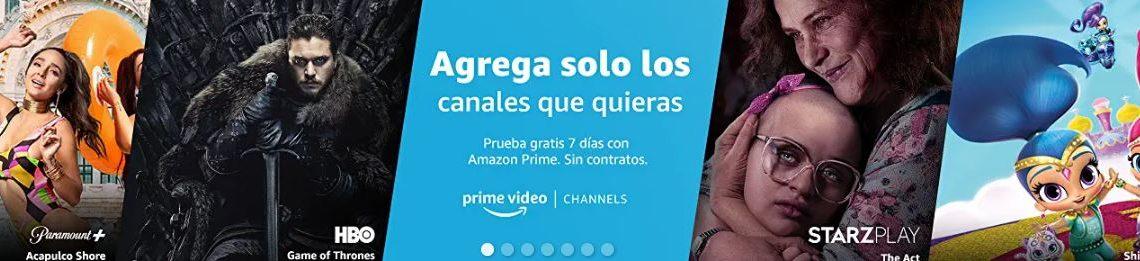 AMAZON LANZARÁ PRIME VIDEO CHANNELS EN MÉXICO