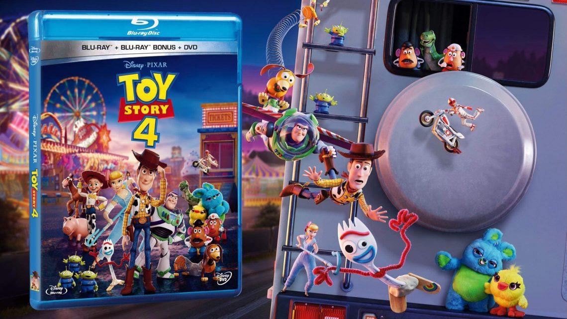 Llega Toy Story 4 en Blu-Ray y DVD