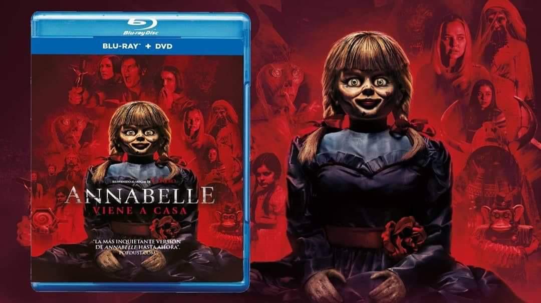 Annabelle vuelve a casa en Blu-Ray y DVD