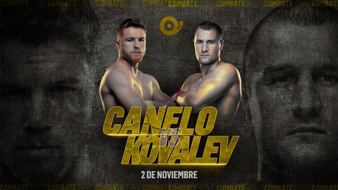 SAÚL ÁLVAREZ vs. SERGEY KOVALEV: En vivo desde Las Vegas | Sábado 2 de noviembre | Título Mundial medio pesado OMB