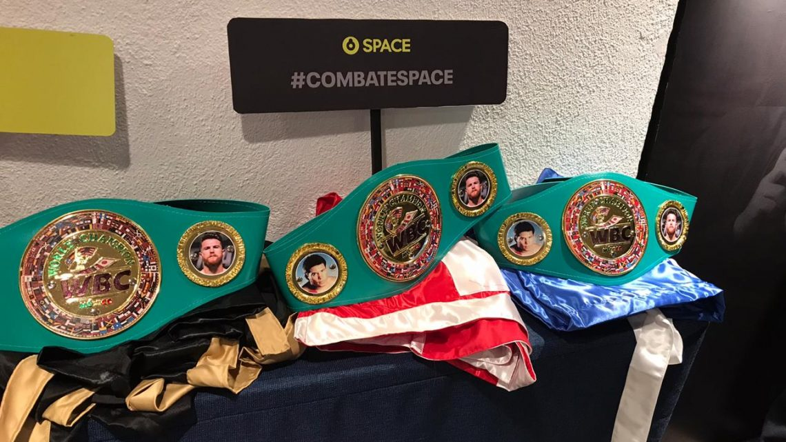 Combate SPACE Andy Ruiz Jr. VS Anthony Joshua: La Revancha