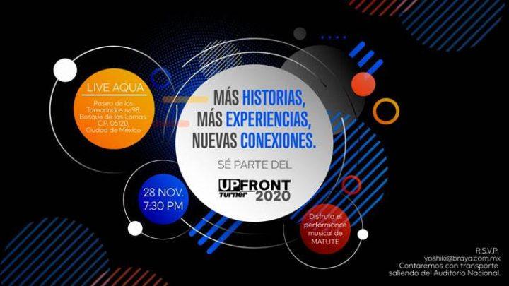 UpFront Turner 2020: Más Historias, Más Experiencias, Nuevas Conexiones