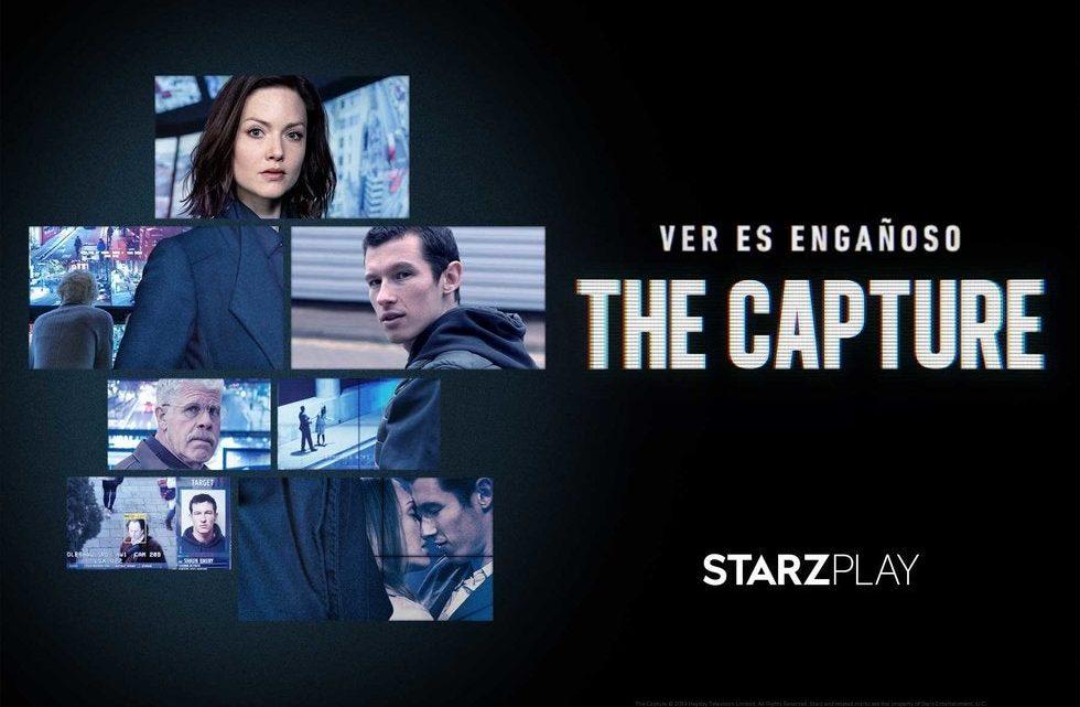 """Disponible AHORA """"The Capture"""" por STARZPLAY"""