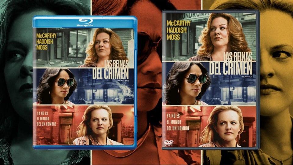 SUBESTÍMALAS BAJO TU PROPIO RIESGO LAS REINAS DEL CRIMEN DE WARNER BROS. HOME ENTERTAINMENT Y DC LLEGA EN BLU-RAY™, DVD Y DIGITAL Cómprala en Blu-ray y DVD a partir del 31 de enero
