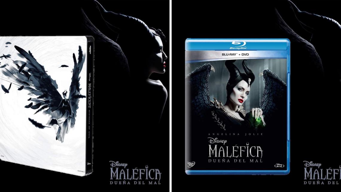 """""""Maléfica: Dueña del mal""""de Disney se estrenará DVD y Blu-ray™ el 7 de febrero"""