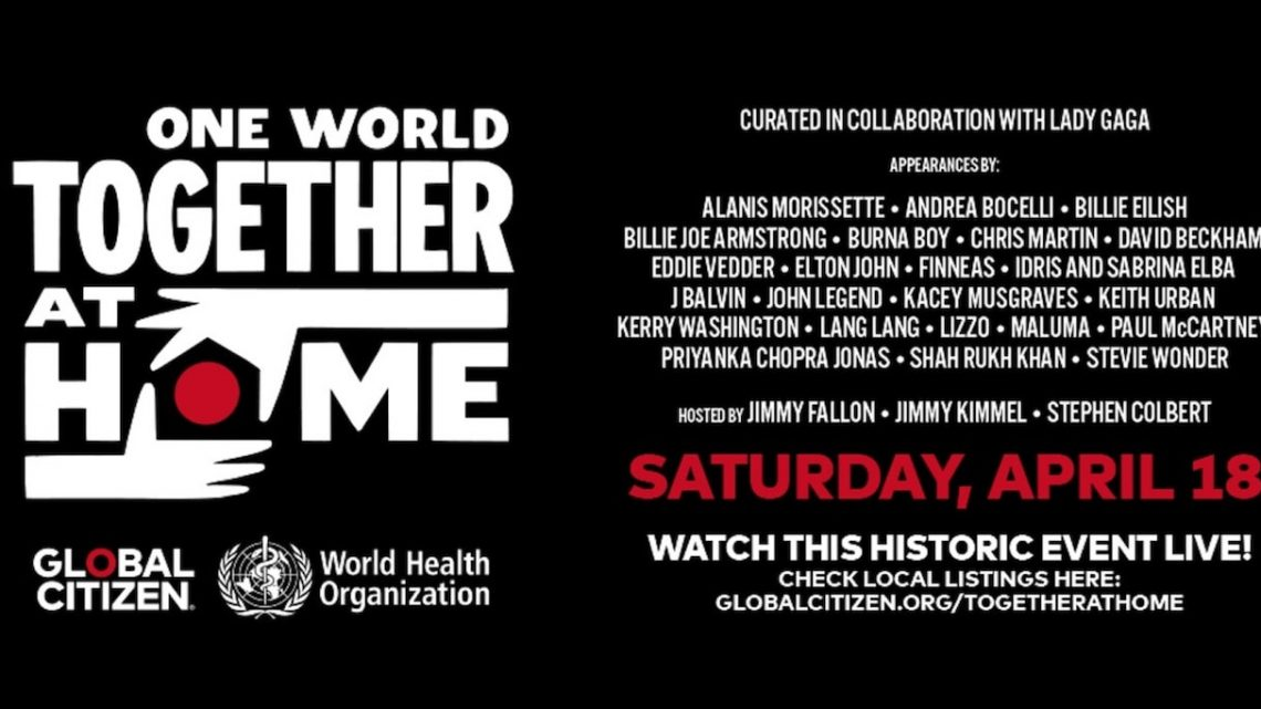 "E! transmitirá ""ONE WORLD: TOGETHER AT HOME"""