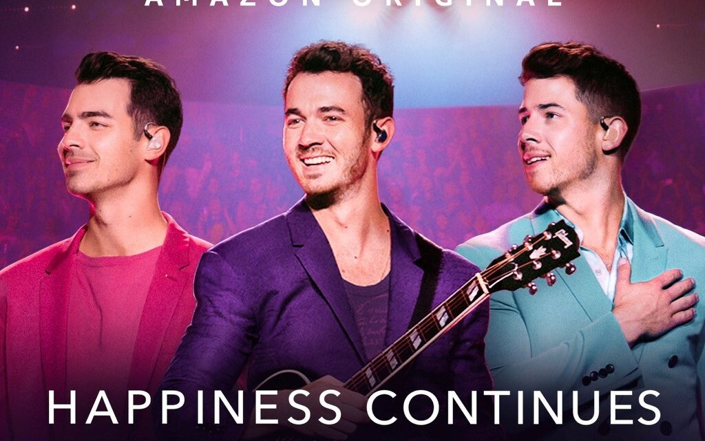 """Amazon Prime Video presenta """"Happiness Continues: A Jonas Brothers Concert Film"""""""