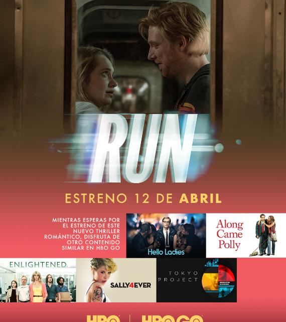 EL THRILLER ROMÁNTICO RUN LLEGA EL 12 DE ABRIL A HBO