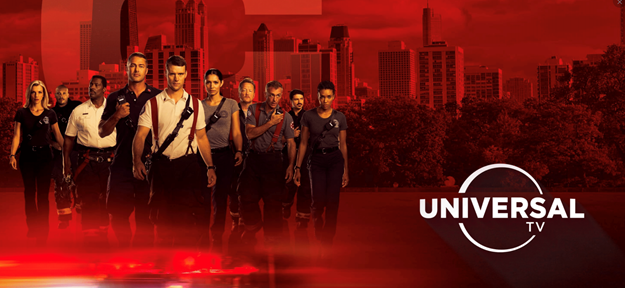 Episodio CROSSOVER CHICAGO (FIRE-PD) lunes 13 de abril