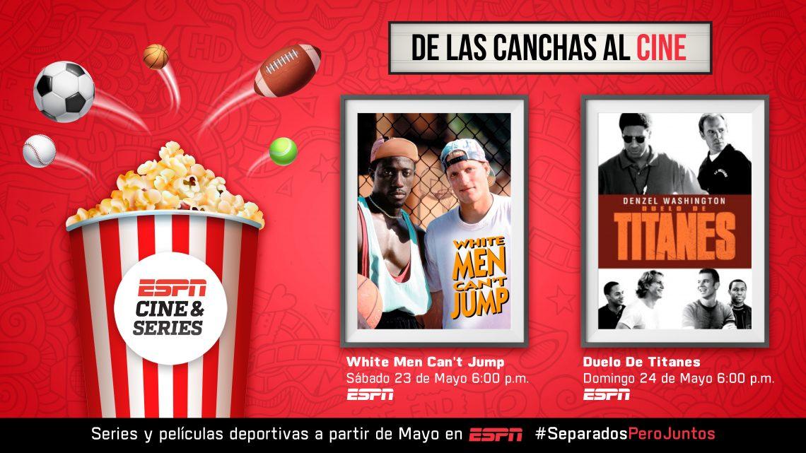 ESPN CINE & SERIES: próximos estrenos WHITE MEN CAN'T JUMP y DUELO DE TITANES