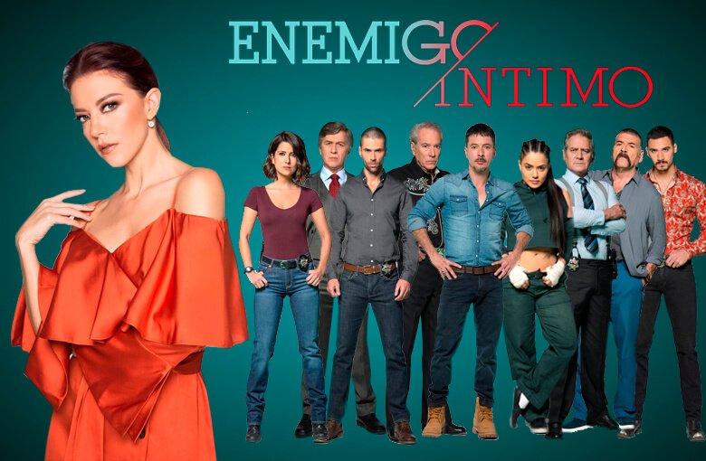 "EL DRAMA CRIMINAL ""ENEMIGO ÍNTIMO"" LLEGA A TELEMUNDO INTERNACIONAL"