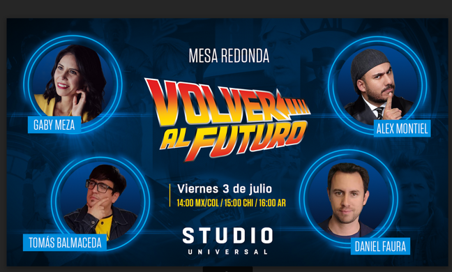 "EL 35º ANIVERSARIO DE ""VOLVER AL FUTURO"" SE CELEBRA EN STUDIO UNIVERSAL"