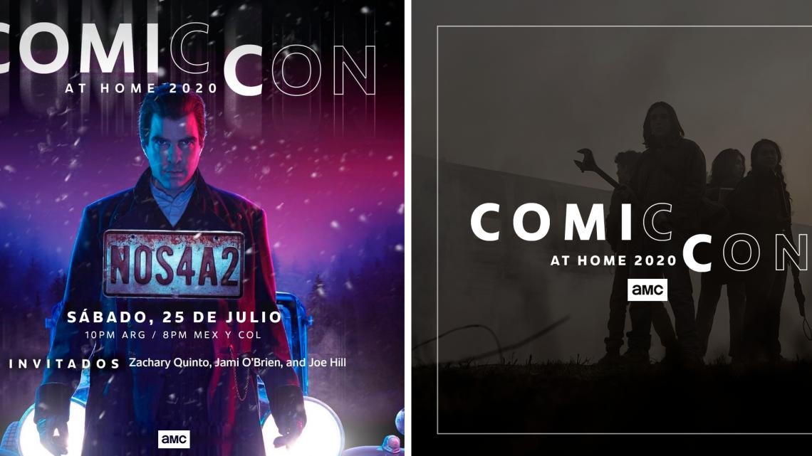 AMC PRESENTE EN LA COMIC-CON@HOME DE ESTE AÑO CON PANELES VIRTUALES DE FEAR THE WALKING DEAD, THE WALKING DEAD: WORLD BEYOND Y NOS4A2