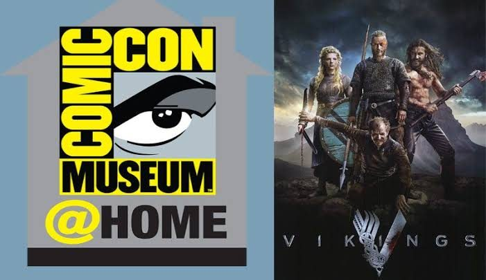 Vikings sexta temporada / COMIC CON @HOME