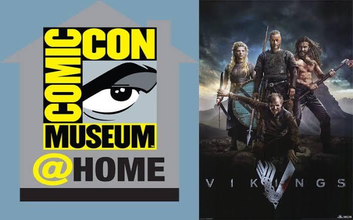 Vikings sexta temporada / COMIC CON @HOME