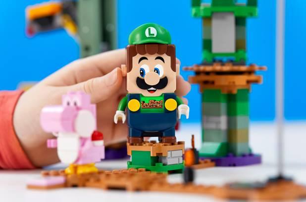 LUIGI SE UNE A SU HERMANO MARIO EN EL NUEVO 'PACK INICIAL AVENTURAS CON LUIGI™' DE LEGO SUPER MARIO™