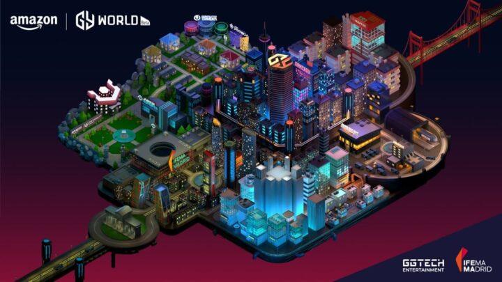 LLEGA AMAZON GAMERGY WORLD, el mundo virtual de GAMERGY